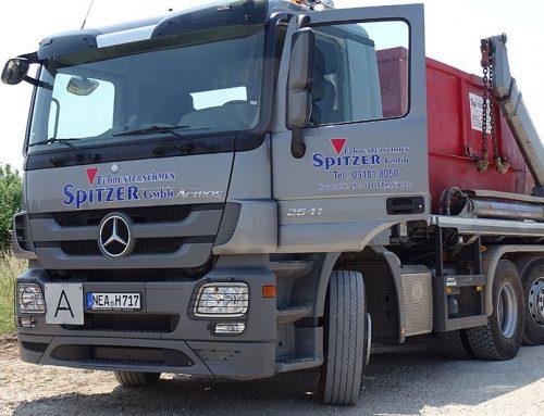 Container-Fahrzeug